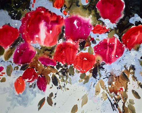 The Promise by Danielle O'Connor Akiyama - Original Painting on Box Canvas